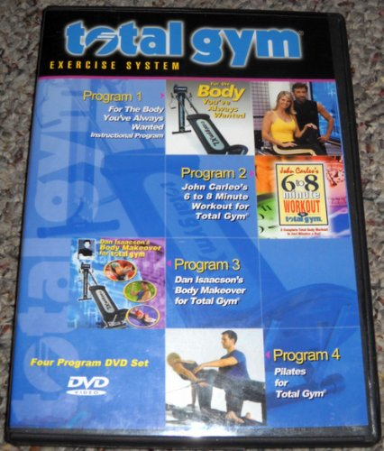 Total Gym Exercise System: 4 Programs on One DVD