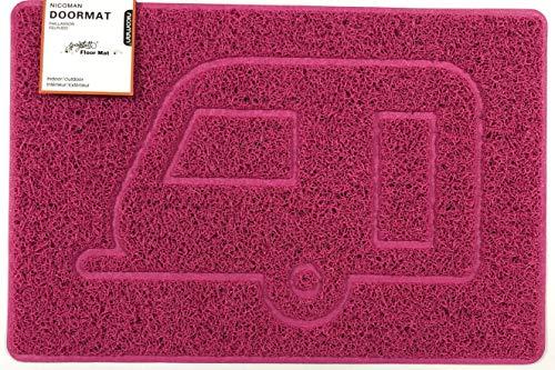 Nicoman Wohnwagen-Fußmatte, geprägt, Schmutzfangmatte