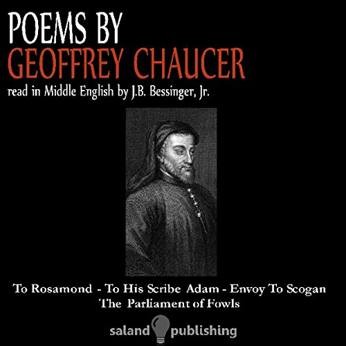 Poems By Geoffrey Chaucer audiobook cover art