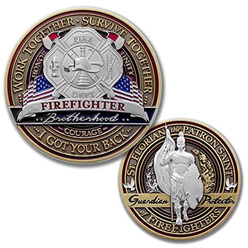 Saint Florian Challenge Coin