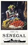Unbekannt Senegal, Reproduktion, Poster, Größe 50 x 70