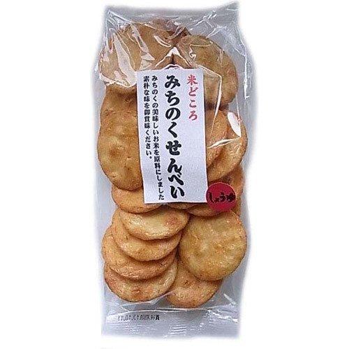 味泉 米どころみちのくせんべい しょうゆ 110g ×8セット