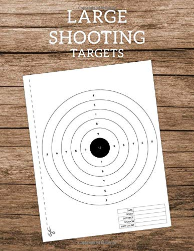 Shooting Targets Paper: Silhouette Range for Gun Pistol Rifle Airsoft BB Gun Pellet Gun Air Rifle