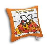 Sheepworld 49197 Baumwoll-Kissen mit Spruch Es ist Kuschelzeit, Zier-Kissen, 40 cm x 40 cm