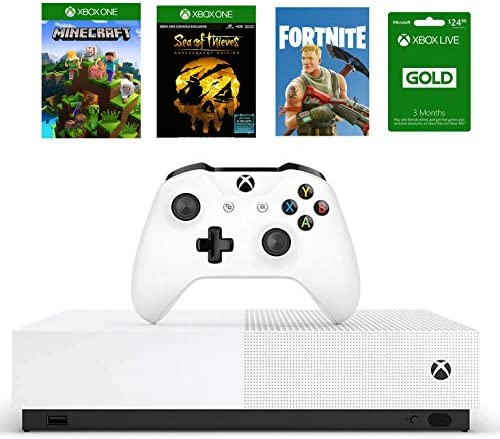 Xbox One S 1TB All Digital Edition Bundle Xbox One S 1TB Disc free Console Wireless Controller product image
