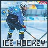Ice Hockey Calendar 2022: Official Ice Hockey Calendar 2022, 18 Month Photo of Ice Hockey calendar 2022, Mini Calendar