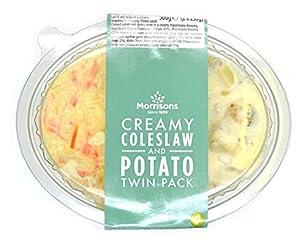 Morrisons Coleslaw & Potato Twin Pack, 2 x 250g
