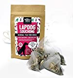 WOOF&BREW Lapdog Souchong Tea for Dogs Daily Pet Treat - 7 Herbal Teabag Pouch