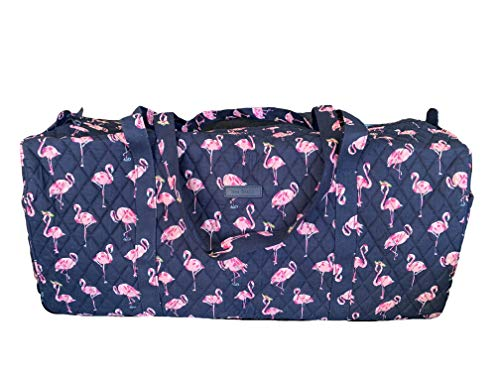 Vera Bradley Large Traveler Duffel - Flamingo Fiesta