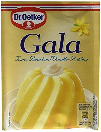 Dr. Oetker Gala Feiner Bourbon-Vanille-Pudding, 11er Pack (11 x 113 g)