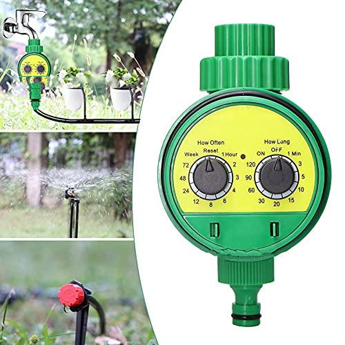 CYzpf Temporizador de Riego Automático Programador Jardín Sistema Control Electrónico Controlador Aspersores para el Hogar Jardinería Planta Balcón Patio Vegetal,