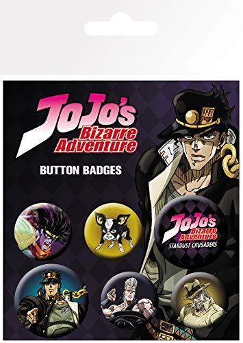 GB Eye, Jojo's Bizarre Adventure, Characters, Badge Pack