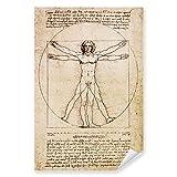 Postereck - 0125 - Zeichnung Leonardo da Vinci, Gesundheit