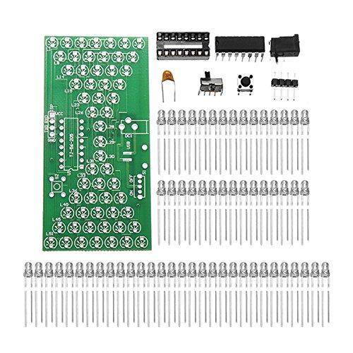 BliliDIY 5 Stücke DIY Elektronische Sanduhr Kit Interessantes Lernen Kit Mcu Led-Leuchten Ersatzteile