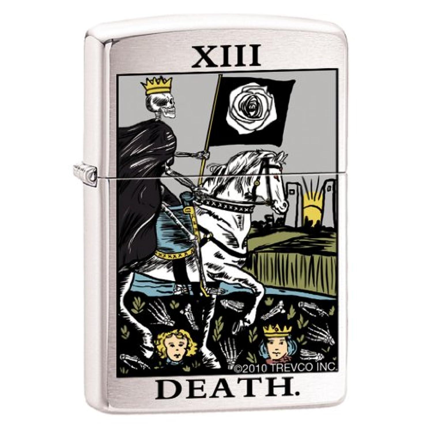Tarot Deck Card Thirteen Psychic Mystic Chrome Zippo Lighter