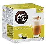Nescafé Dolce Gusto Cappuccino - Tarro de café, 30 cápsulas / 15 porciones