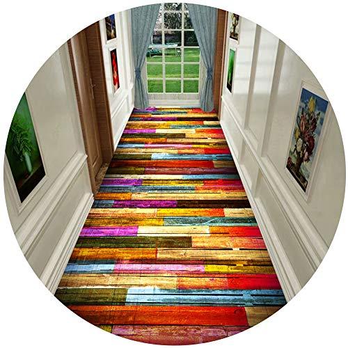 Alfombras Moquetas Alfombras Multicolores para La Habitación de los Niños de la Guardería, Alfombra Moderna para Adultos, Adolescentes, Antideslizante (Size : 0.6×1m(23.6×39.37 in))