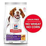 Grain Free Dry Dog Food by Hill's Science Diet, Adult, Sensitive Stomach & Skin,...