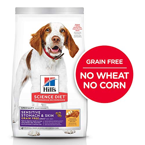 Hill's Science Diet Dry Dog Food, Adult, Sensitive Stomach & Skin