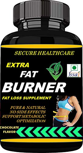 Secure Healthcare Extra Fat Burner | Weight Loss | Chocolate Flavor 100 gms Powder (Pack Of 1)