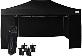 Best 10x15 canopy with walls Reviews