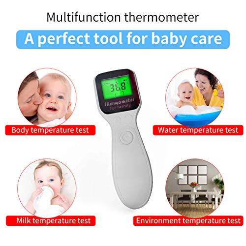 Why Should You Buy MOSTFA Ear Forehead Thermometer Non-Contact Forehead Thermometer Digital Infrared...