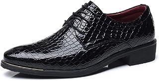 0b0a710dea Scarpe Uomo Eleganti Oxford Derby Pelle Stringate Basse Sneakers Brogue  Vintage Autunno Appuntito Scarpe Nero Blu