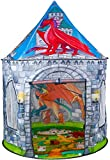 Benebomo Carpas para niños Pterosaurio,Tiendas de campaña,Tipi para niños, casita para Jugar, casita para bebés, casita para Carpas,Carpa para jardín, con una Bolsa de Transporte, niños y niñas