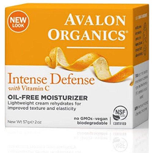 Avalon Organics: Vitamin C Rejuvenating Oil-Free Moisturizer, 2 oz (2 pack)