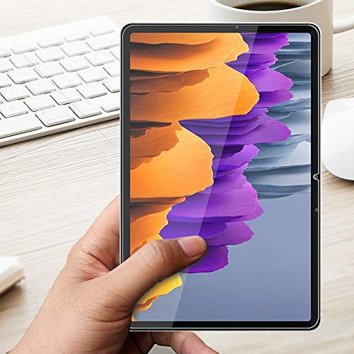 ANEWSIR [3 Stück Panzerglas Schutzfolie für Samsung Galaxy Tab S7, Samsung Galaxy Tab S7 Schutzfolie Glas Display [ohne Luftblasen] [Anti-Kratzer] Schutzfolie Displayschutzfolie Folie.