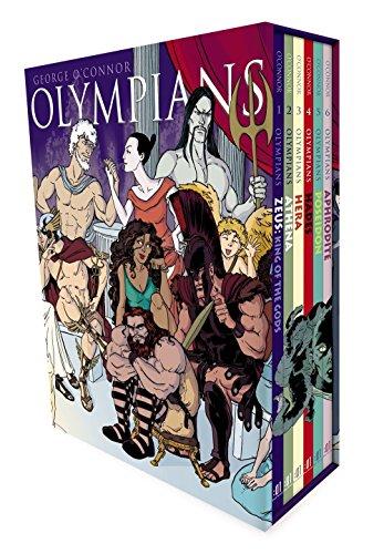 Olympians Boxed Set Books 1-6: Zeus, Athena, Hera, Hades, Poseidon & Aphrodite