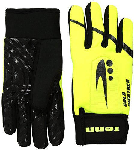 Tenn Unisex Cold Weather Plus Gloves - Hi-Viz Yellow - XXS (Womens: M)