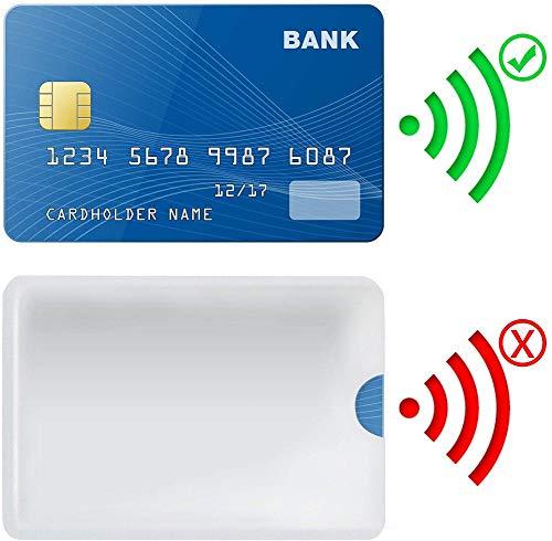 RFID Blocking Sleeves 10 Credit Card and 2 Passport Protectors Photo #6