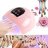 Zay Luay Luces 5 4W UV Lámpara de uñas 18 LED UV Luces Gel Secador de Esmalte de uñas Curado Manicura