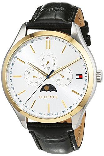 Tommy Hilfiger Herren-Armbanduhr Sport Luxury Analog Quarz Leather1791305