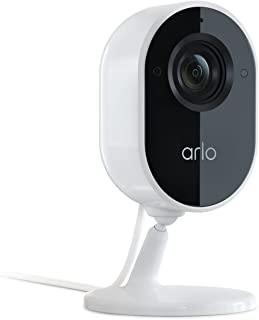 Arlo Essential Indoor Camera | 1080P Video Quality, 2-Way Audio, Package Detection | Motion Detection and Alerts | Built-i...
