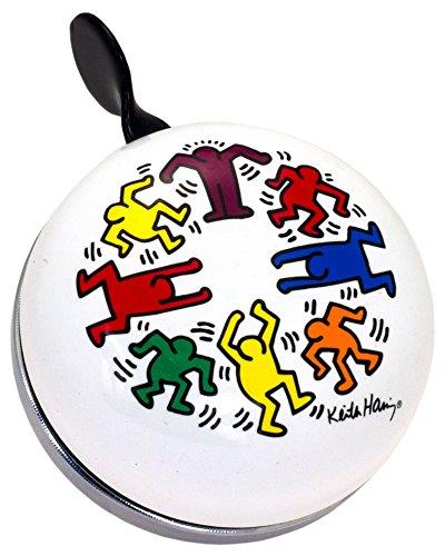 Liix Ding Dong Fahrradklingel Keith Haring Circle of People