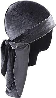 Respirant Durag Pour Hommes Taille Unique Noir