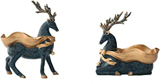 Living room home decoration Door Porch Shoe Cabinet Key Storage Box Modern Minimalist Lucky Deer Crafts Ornaments Desktop ...