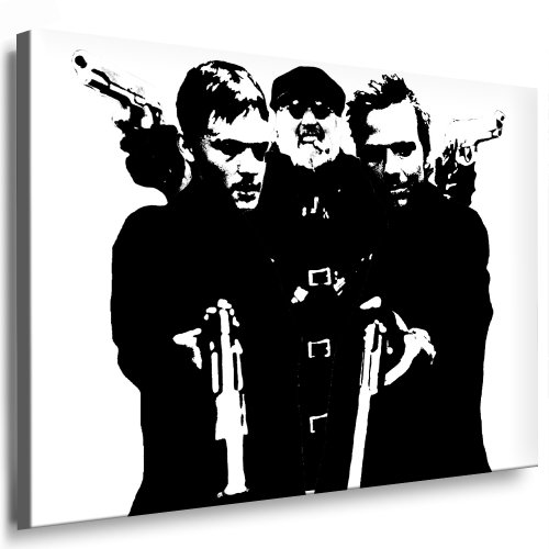 Unbekannt The Boondock Saints Leinwand Bild 100x70cm k. Poster ! Bild fertig auf Keilrahmen ! Pop Art Gemälde Kunstdrucke, Wandbilder, Bilder zur Dekoration - Deko. Film/Movie/Tv Stars Kunstdrucke