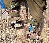 OUTDE 304 Inossidabile Arrampicarsi sugli Alberi Artefatto,Ramponi Professionali Accessorio per Arrampicata e Tree Climbing,Che è Duro e Non Deformato