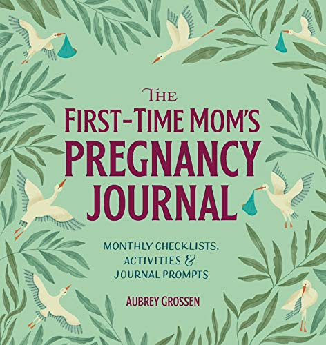 The First-Time Mom's Pregnancy Journal: Monthly Checklists,...