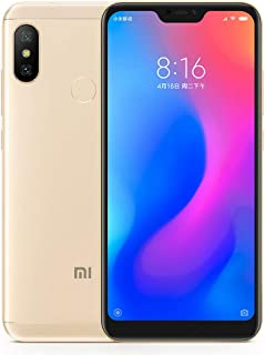 Smartphone Xiaomi Mi A2 Lite dual Android 8.1 Tela 5.84 Global 64GB 4GB RAM Camera dupla 12+5MP - Dourado