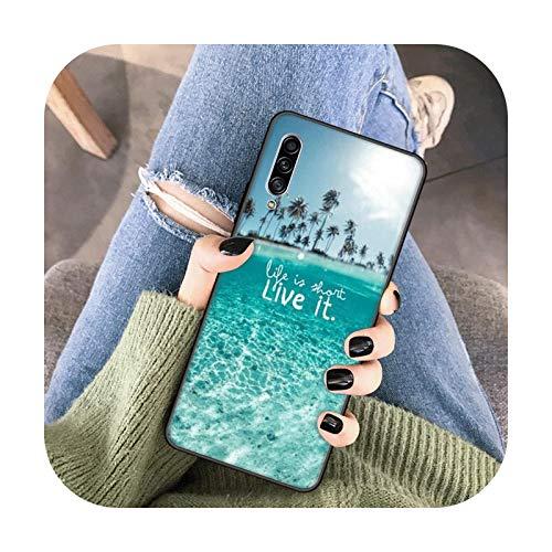 Never Stop Dreaming - Funda blanda de TPU para Samsung J4 Core J4 Plus J6 Plus J7 Duo J8 J2 J5 J7 Prime J730 J7 Funda Case B15-para Samsung J4 2018