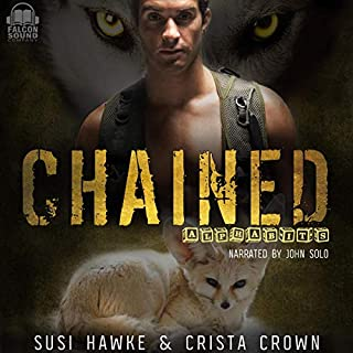 Chained     Alphabits, Book 4              By:                                                                                                                                 Susi Hawke,                                                                                        Crista Crown                               Narrated by:                                                                                                                                 John Solo                      Length: 5 hrs and 2 mins     Not rated yet     Overall 0.0