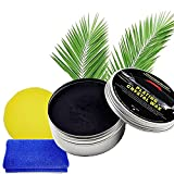 Sofia's Newly Upgraded Car Wax Crystal Plating Set Hard Glossy Carnauba Wax, Car Coating Wax Anti Scratch, for Removing Deep Scratches and Stains (Black)