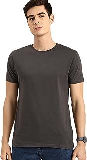 Bewakoof Men Plain Regular T-Shirt