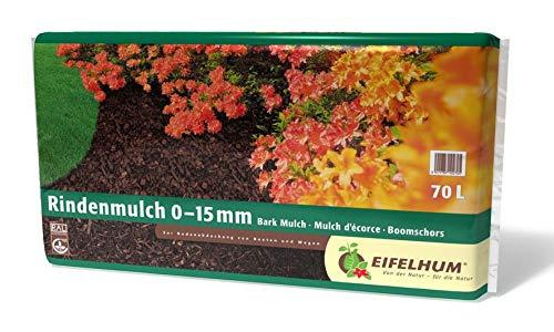 Rindenmulch Fein 60 Liter 0-15 mm v. Eifelhum