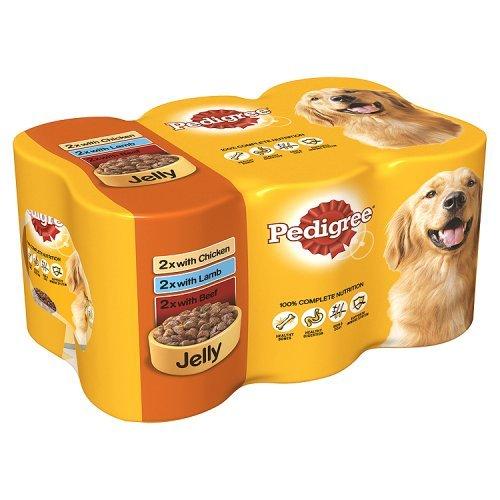 Pedigree Dog Lot de 6 boîtes de Conservation en Sauce 400 g