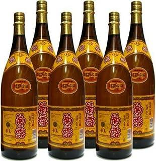 泡盛 菊之露5年古酒40度 一升瓶 6本セット 1800ml